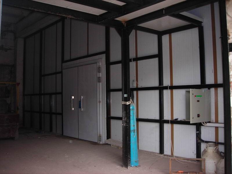 Стрительство холодильных складов под ключ